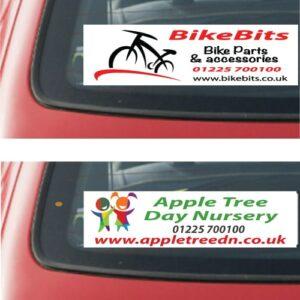 Rear Window Car Stickers